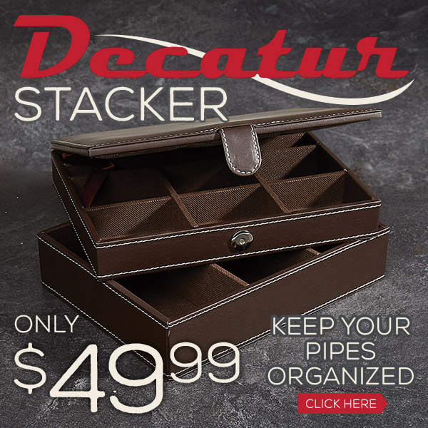 The perfect organizer for your pipe needs!