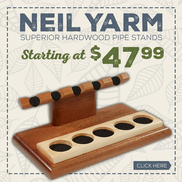 Premium Hardwood Pipe Stands by Neil Yarm