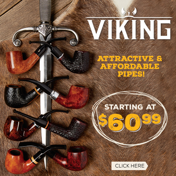 Bjarne Viking are Attractive & Affordable pipes!