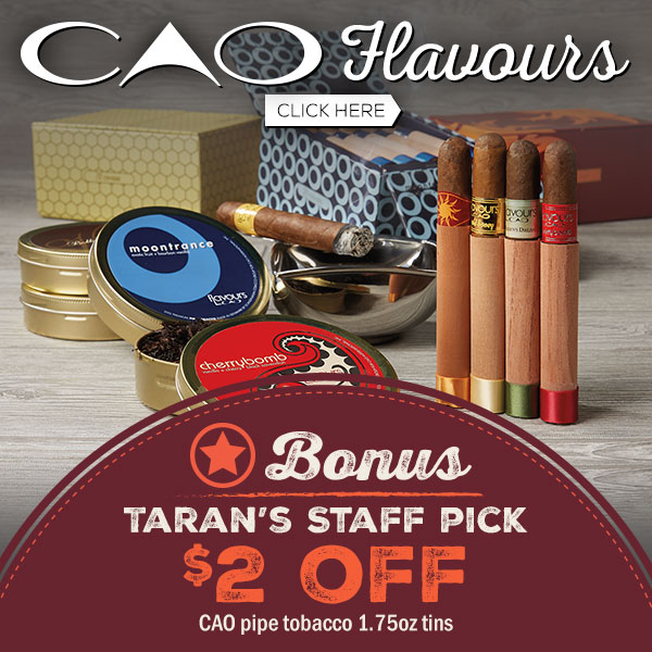 $2 Off CAO Flavour Pipe Tobacco tins!