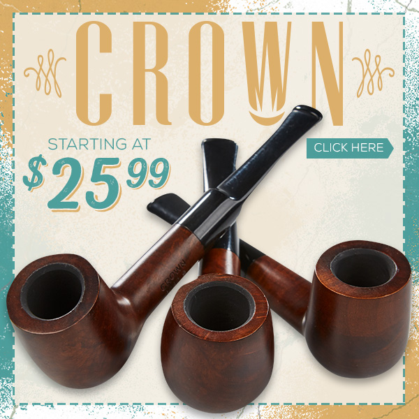 Crown Pipes - Italian Made