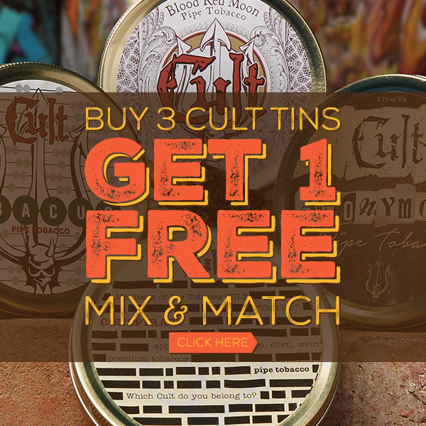 Buy 3 Tins of Cult and Get 1 Free!