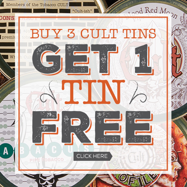 Buy 3 Cult Tins Get 1 Free!