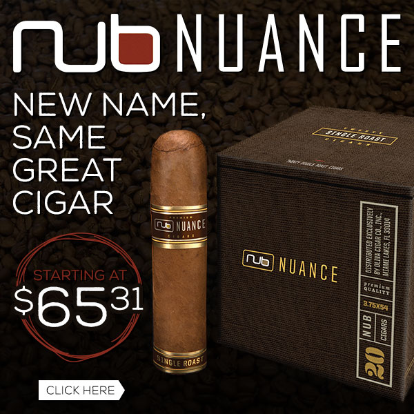 Nub Nuance - New Name, Same Great Cigar