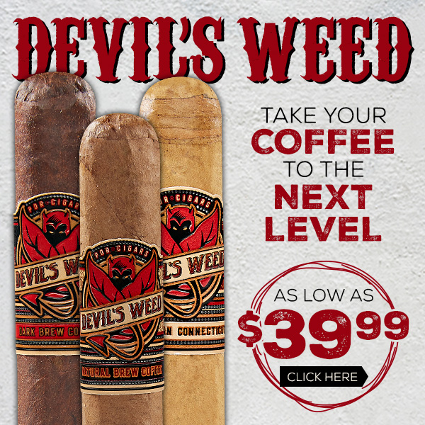 Devil's Weed Smooth, Mellow Cigars