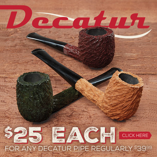 Decatur Pipes - $25 Each!