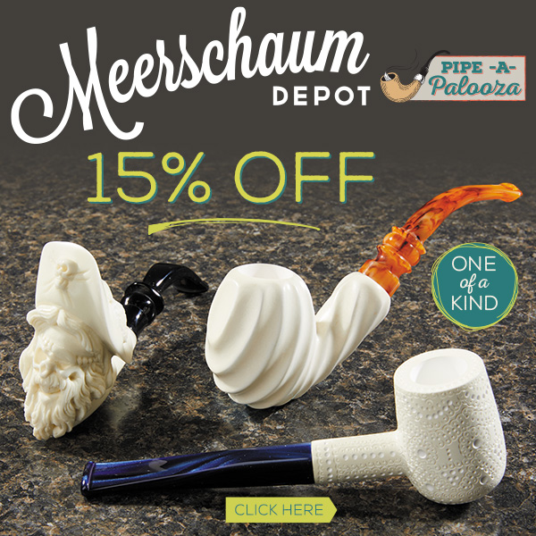 Meerschaum Depot Pipes Now 15% Off