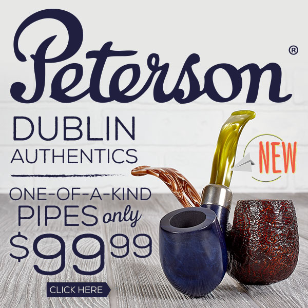 Peterson Dublin Authentic Pipes - NEW!