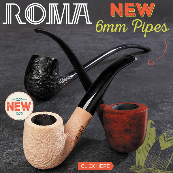 NEW Roma Pipes Now Available