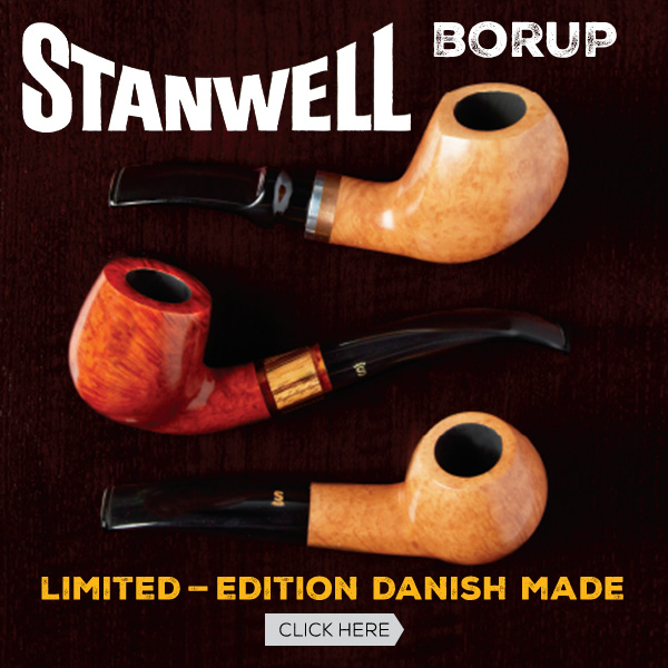 Limited-Edition Danish Made Stanwell Borup pipes!