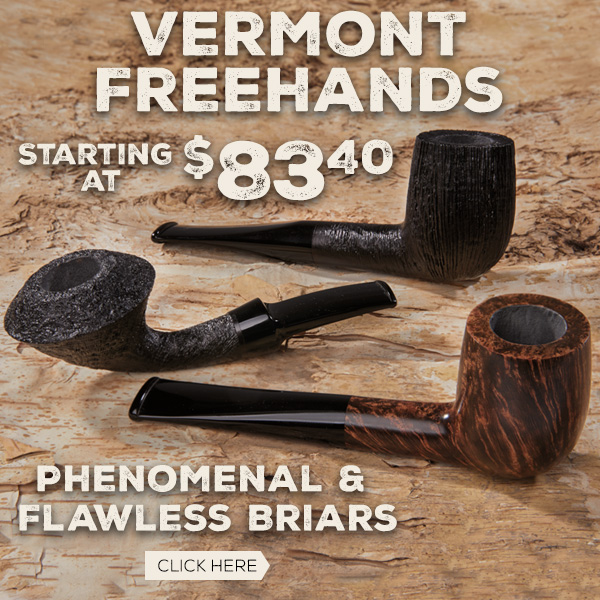 Phenomenal Vermont Freehand Pipes!