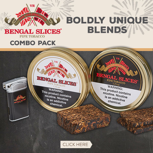 Bengal Slices Combo Pack - Two Tins Plus a Lighter