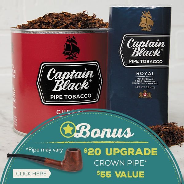 $20 Upgrade Crown Pipe with 1lb Bag Purchase