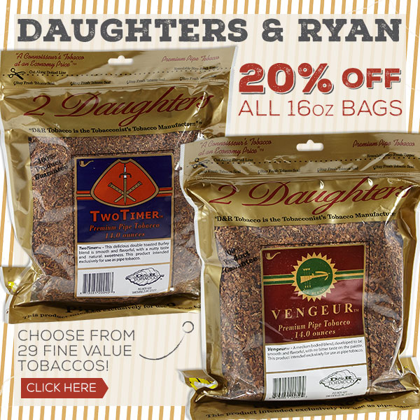 20% off 16oz bags of Daughter's & Ryan