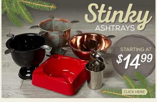 Stinky Ashtrays Starting at $14.99
