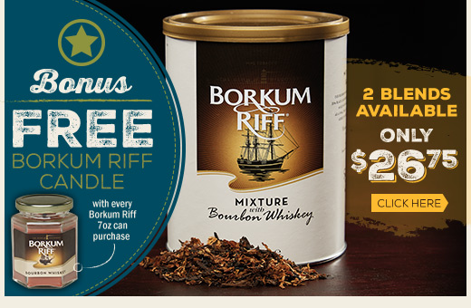 Free Candle with Purchase of Borkum Riff Candle