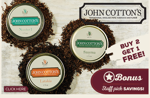 John Cotton's - Buy 2 Get 1 Free