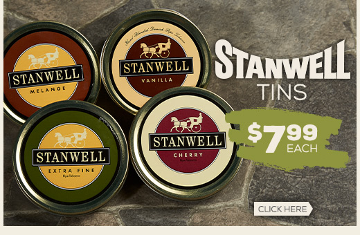 All Stanwell Tins - Only $7.99!