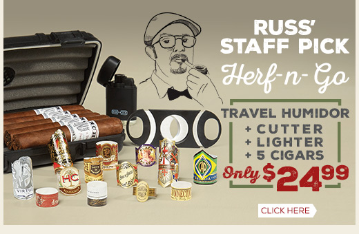 Build Your Own Herf-n-Go Sampler Only $24.99