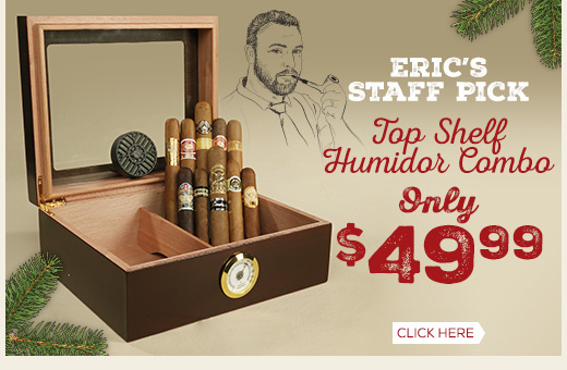 Top Shelf Humidor Combo Only $49.99