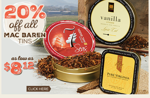 Mac Baren - 20% OFF Tins