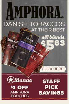 Amphora pouches $1.00 Off
