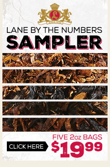 Lane by the Numbers Bulk Pipe Tobacco Sampler