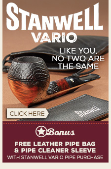 Stanwell Vario + Free Pipe Bag & PIpe Cleaner Sleeve!