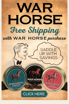 War Horse Pipe Tobacco + Free Shipping