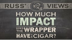 How Much Impact Does the Wrapper Have on a Cigar?