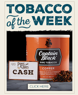 Tobacco of the Week: Captain Black Copper