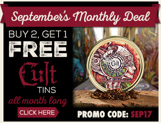 September Monthly Deal - Cult Buy 2 Get 1 Free