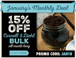 January 2017 Calendar Deal - 15% Off Cornell & Diehl Bulk!