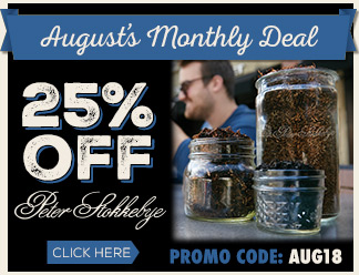 August 2018 Calendar Deal - 25% OFF Peter Stokkebye