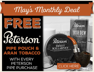 Free Pouch and Aran Tobacco with every pipe!