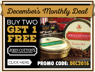 December Monthly Deal - John Cotton's Buy 2 Tins Get 1 Free