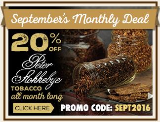 September Monthly Deal - 20% Off Peter Stokkebye