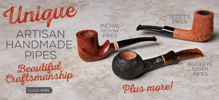 Unique Artisan Handmade Pipes Now Available