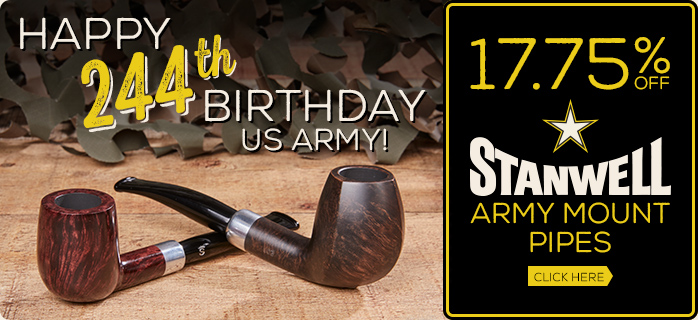 Celebrate the US Army's Birthday with a Great Deal on Army Mount Pipes!