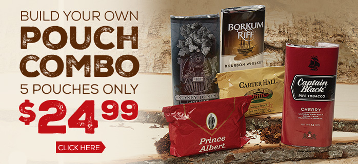 Build Your Own Pouch Combo - 5 Pouches only $24.99