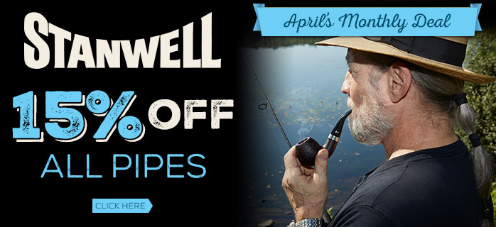 15% Off All Stanwell Pipes!