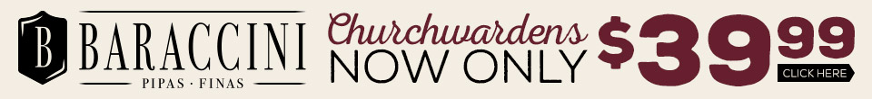 All Baraccini Churchwarden Pipes Only $39.99!