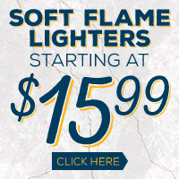 Soft Flame Lighters starting at $15.99!