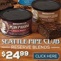 Seattle Pipe Club Reserve Blends - $24.99