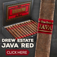 NEW! Drew Estate Java Red