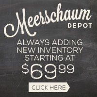New Inventory has arrived for Meerschaum Depot pipes!