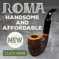 Roma Pipes are Handsome and Affordable!