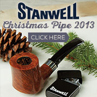 Just in time for Christmas the Stanwell Christmas pipe is here!