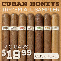 Cuban Honeys Try 'Em All Sampler Only $19.99!