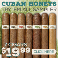 Cuban Honey's Try 'Em All Sampler for $19.99!